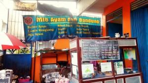 Siomay dan Mi Ayam ala Bandung di sekitar Pasar Pathuk Yogyakarta