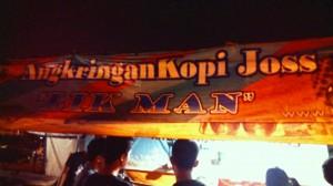 Ramenya kopi joss Lik Man, pertama di Stasiun Tugu Yogyakarta