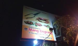 Makan Udang Galah Super Enak dan Jempolan di Yogyakarta