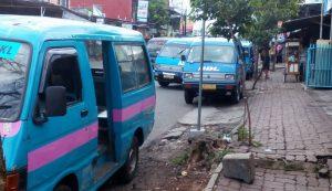 mikrolet di kota Malang