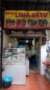 Pangsit Mie Resep Kuno di Depot 51 di Kota Malang