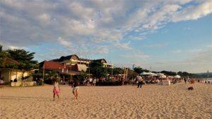 Keindahan Sunset di Pantai Jimbaran