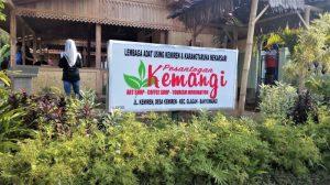 Pusat Informasi Di Kampung Budaya Osing Desa Kemiren Di Banyuwangi