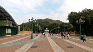 area masuk Disneyland Hong Kong