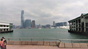 Dermaga di Central Hong Kong