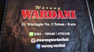 Warung Wardani Kuta di Pulau Bali
