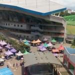 Menikmati Sibuknya Pasar Minggu Pagi yang Rapi di Kota Malang