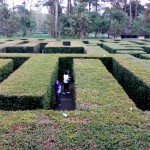 Taman Labirin di Coban Rondo Pujon Kabupaten Malang