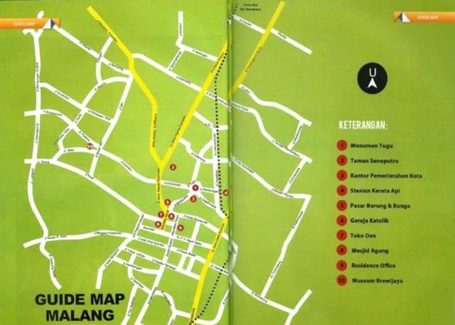 Peta Malang Akulily
