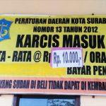 Menikmati Keramaian Pantai Kenjeran Lama di Surabaya