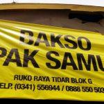 Bakso Pak Samut Di Kota Malang Yang Bikin Kangen