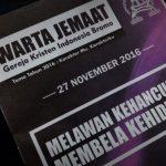 Jadwal Kebaktian di GKI Bromo Jalan Bromo 2 Malang