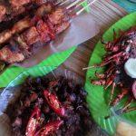 Warung Lesehan Seafood Wiji Lestari di Pantai Kondang Merak Malang