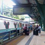 Transportasi Menuju Disneyland Hongkong Dengan Kereta MTR