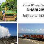 Paket Wisata Keren Hemat Melintas Bali Utara Tengah dan Selatan
