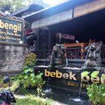 Makan Olahan Bebek Enak di Resto Bebek Bengil Ubud Bali