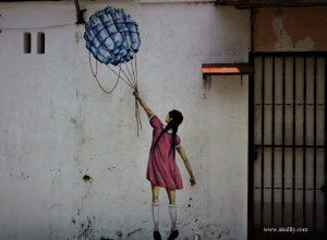 Menelusuri Street Art di Georgetown Penang