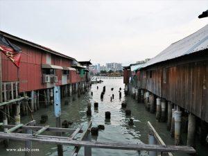 Mengenal Kawasan Chew Jetty di George Town Penang