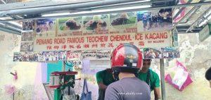 Cendol dan Es Kacang Enak di Lebuh Keng Kwee Penang