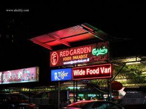 Red Garden Surganya Kuliner di Jalan Penang George Town