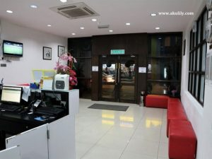 Lokasi Hotel Grand Inn Penang Road George Town yang Strategis