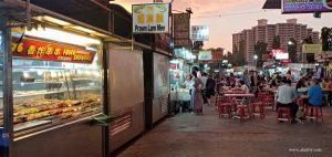 Menikmati Kuliner Sore di Pusat Jajanan Gurney di Penang