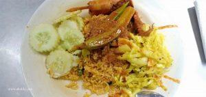 Meriahnya Menu di Line Clear Nasi Kandar Legendaris di Penang
