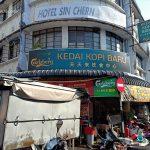 Sarapan di Kedai Kopi Baru Pasar Chowrasta Penang