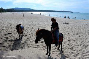Pantai Samila di Hat Yai Thailand yang Bersih dan Indah
