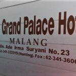 Menginap di Grand Palace Hotel Kota Malang