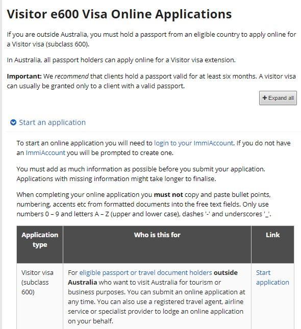 Syarat dan Biaya Pengajuan Visa Australia Online Untuk WNI