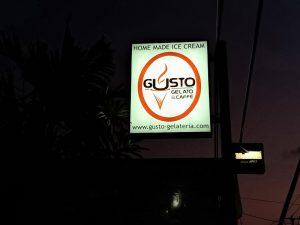 Enaknya Gelato di Gusto Gelato Kerobokan Bali