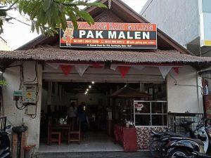 Enaknya Nasi Babi Guling Pak Malen di Sunset Road Bali