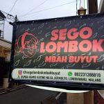Pedasnya Sego Lombok Mbah Buyut di Kota Malang