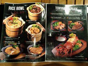 Aneka Makanan Jepang di Fuji Fusion Japanese Cafe Kota Malang