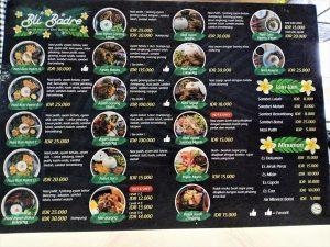 Masakan Khas Bali Halal di Bli Badre Kota Malang