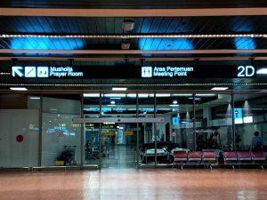 Tempat Mandi di Terminal 2 Bandara Soekarno Hatta Jakarta