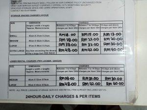 Tempat Penitipan Bagasi di Bandara KLIA2 Malaysia