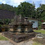 Reruntuhan Candi Songgoriti Di Kota Wisata Batu