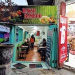 Makan Bakso Bamboo di Jalan Dhoho Kota Kediri
