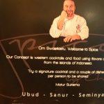 Uniknya Resto Spice by Chris Salans di Ubud Bali