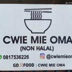 Cwie Mie Babi Buatan Oma di Perumahan Araya Malang