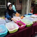 Penjual Nasi Bungkus Asal Indonesia di Dekat KL Sentral Malaysia